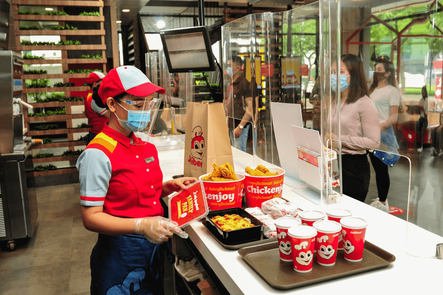 Jollibee Counter